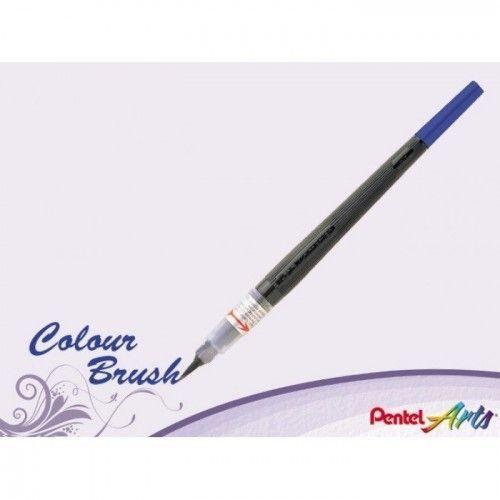 Marcador BrushColor Pentel Azul