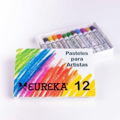 Pastel tiza Eureka 12 unidades