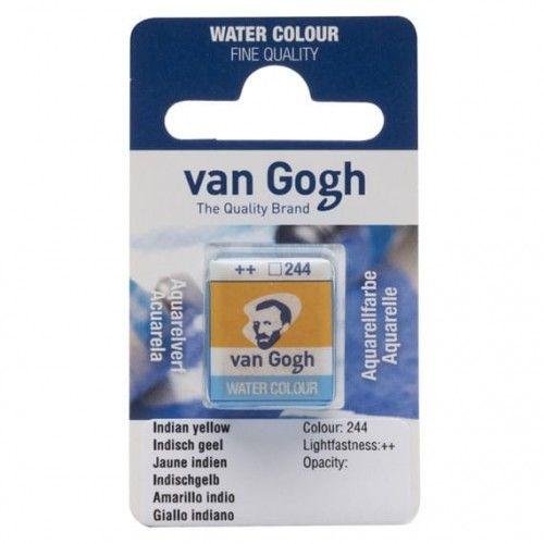 Acuarela en pastilla Van Gogh Amarillo indio