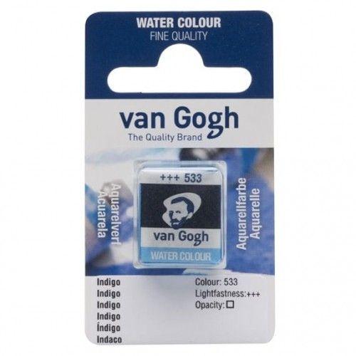 Acuarela en pastilla Van Gogh Índigo