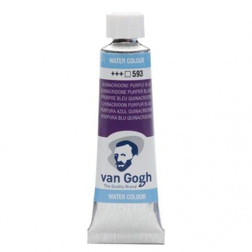 Acuarela Van Gogh Púrpura azul quina