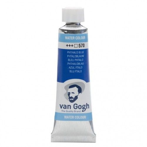Acuarela Van Gogh Azul ftalo