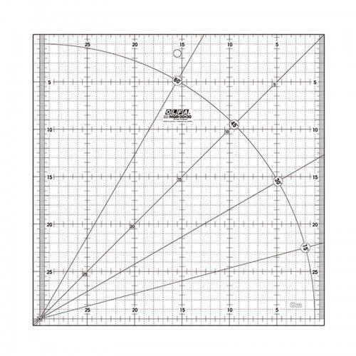 Regla acrílica MQR 30x30 Olfa