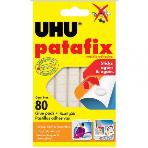 Masilla adhesiva Uhu Pata Fix 80 pastillas