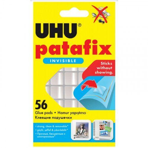 Masilla adhesiva Uhu PataFix Invisble 56 pastillas