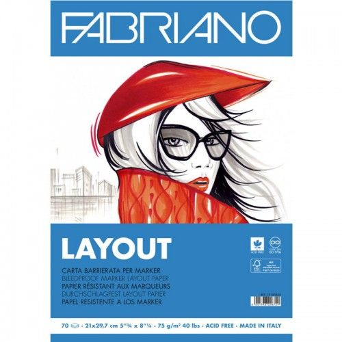 Block Layout Fabriano A3