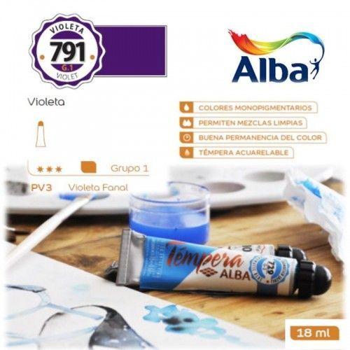 Témpera Profesional Alba Violeta 18ml G1