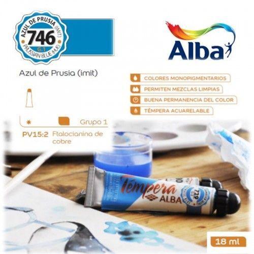 Témpera Profesional Alba Azul de Prusia (Imit) 18ml G1