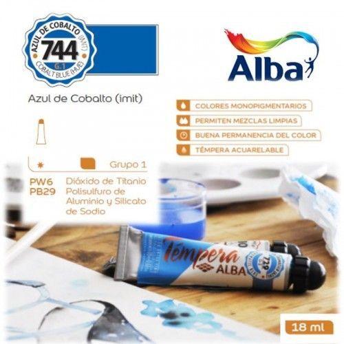 Témpera Profesional Alba Azul de Cobalto (Imit) 18ml G1