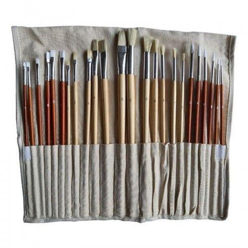 Set pinceles Artmate con porta pincel 24 unidades