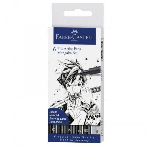 Marcador Artist Pen Mangaka 6 unidades