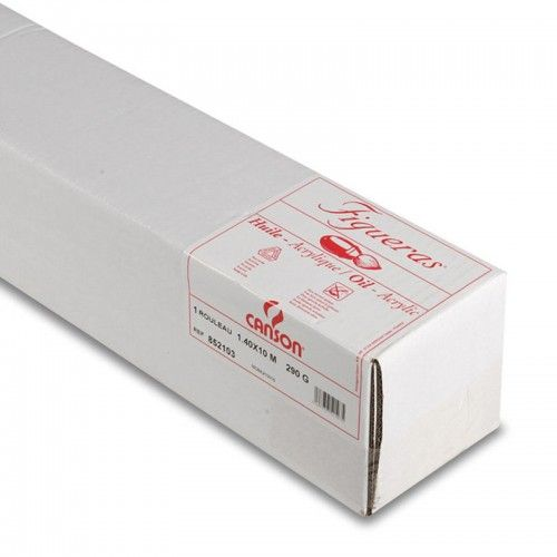 Rollo papel Canson Figueras 1,40x10mts 290grs