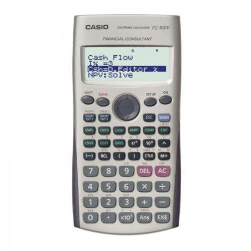 Calculadora Casio Financiera FC-100V