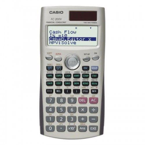 Calculadora Casio Financiera FC-200V