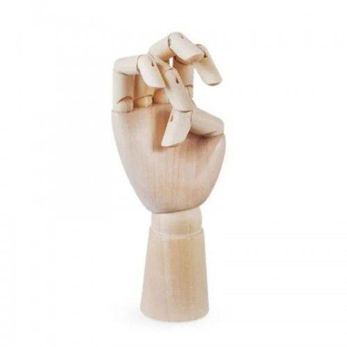 Mano articulada de madera 25cm