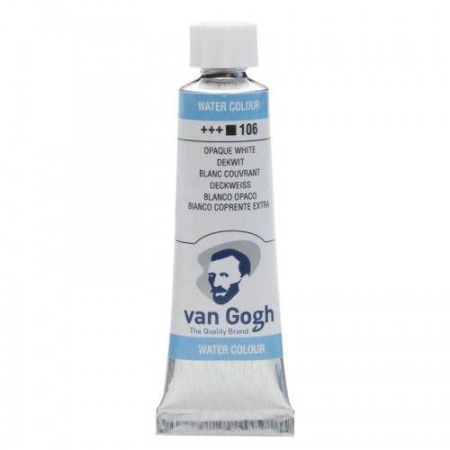 Acuarela Van Gogh blanco opaco