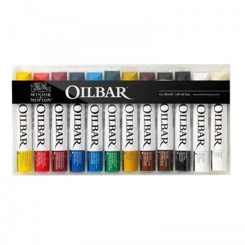 Oil Bar Winsor & Newton 12 unidades