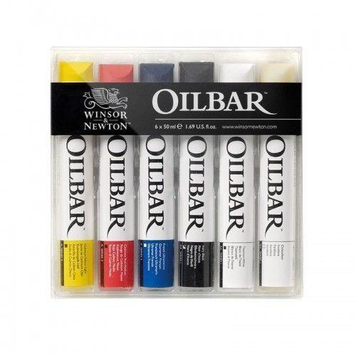 OilBar Winsor & Newton 6 unidades