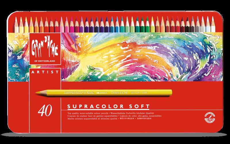 Lápices Supracolor Caran d´ache 40 unidades