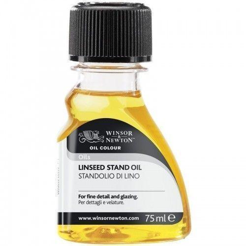 Aceite de lino polimerizado Stand Oil W&N 75 ml