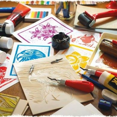 Essdee Art Print Linoleum