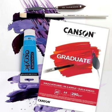 Canson® Graduate Óleo y Acrílico