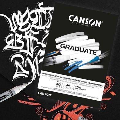 Canson® Graduate Dibujo Negro