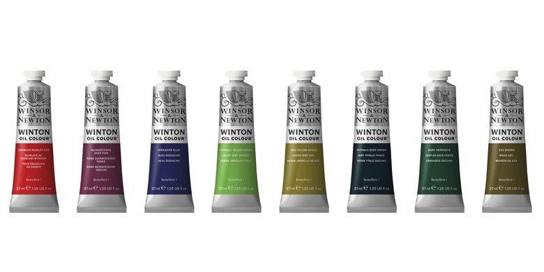 Oleos W&N Winton