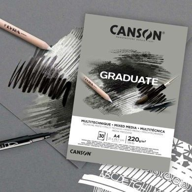 Canson® Graduate Mixed Media Gris